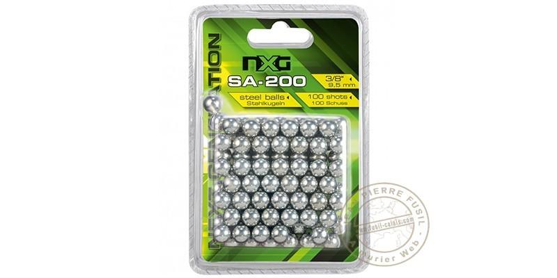 NXG - Steel balls for slingshot - x100
