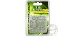 NXG - Billes en verre pour lance-pierre - x75