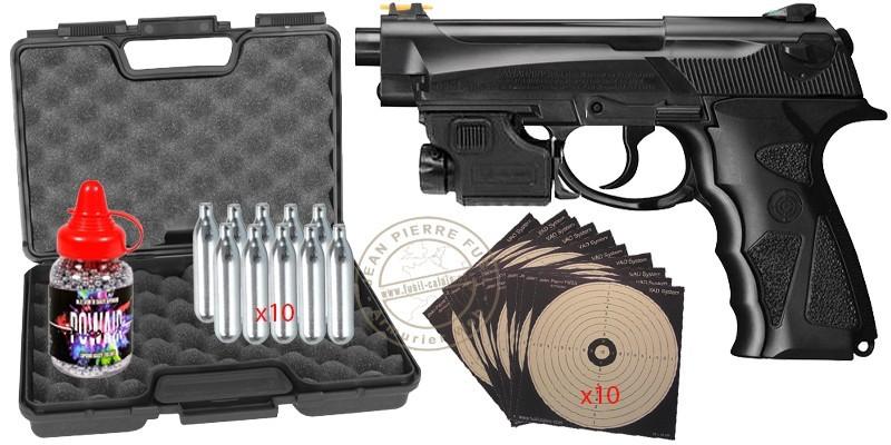 CROSMAN C31 Iceman CO2 pistol pack - .177 bore - SUMMER 2021 PROMO