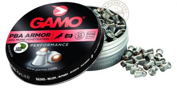 GAMO PBA Armor pellets - .177 - x125