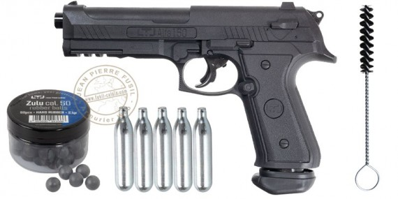 Less Than Lethal Alfa 1.50 CO2 rubber bullets pistol (16 Joule)