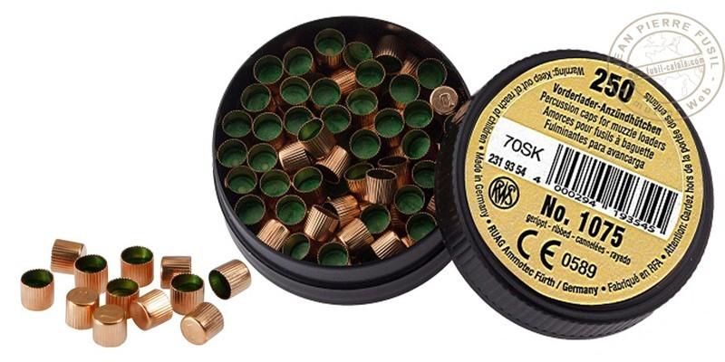 Dynamit Nobel Percussion Caps - x 250