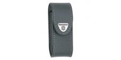 VICTORINOX leather sheath - Small size - Black