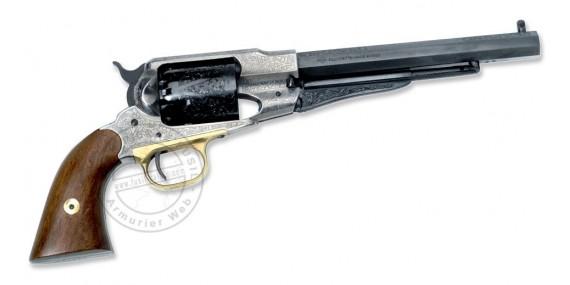 Revolver PIETTA Remington 1858 Luxe Cal. 44 - Canon 8''