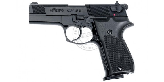 WALTHER CP88 4'' CO2 pistol - black - .177 bore (3,6 joules)