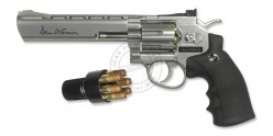 Revolver 4,5 mm CO2 ASG Dan Wesson 6'' - Nickelé (3 joules)