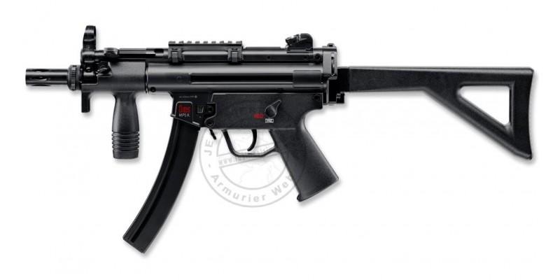 Pistolet 4,5 mm CO2 HECKLER & KOCH MP5 K-PDW (4 joules)