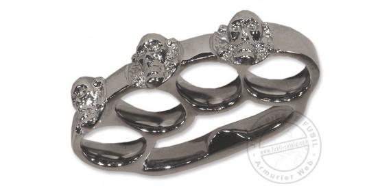 Skull & crossbones Knuckle-duster - Bronze