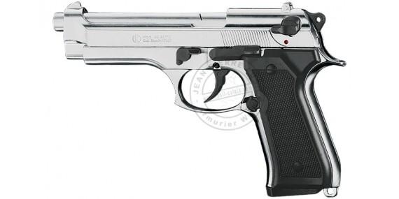 KIMAR Mod. 92 blank firing pistol - Nickel plated - 9mm blank bore
