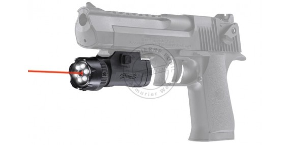 WALTHER laser sight and LED flashlight - FLR 650