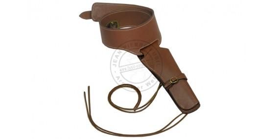 Leather buscadero - 1 revolver
