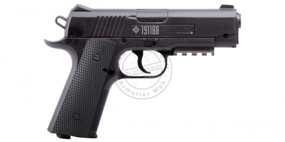 Pistolet à plomb CO2 pas cher 4,5 mm CROSMAN 1911 BB (3,2 joules)
