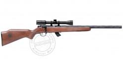 22 Lr SAVAGE Stevens 300G Custom carbine pack - Wooden stock