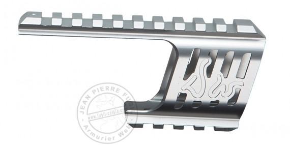 ASG - Custom rail mount for Dan Wesson 715 - Silver