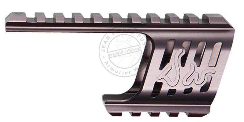 ASG - Custom rail mount for Dan Wesson 715 - Steel grey