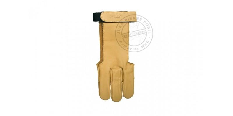 Gantier cuir jaune - Taille L