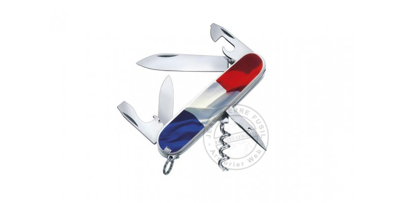 VICTORINOX knife - Spartan French Flag - 8 pieces