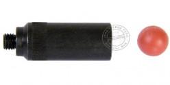 SELF-GOMM adapter for BRUNI-KIMAR blank firing guns + 10 rubber balls