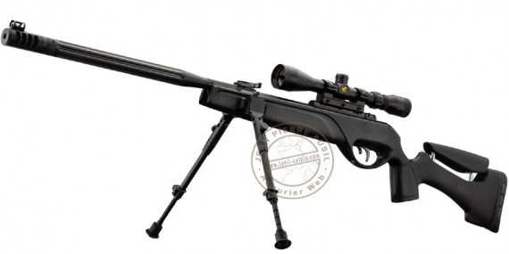 GAMO HPA airgun - IGT - .177 rifle bore (19.9 joules) + 3-9x40 WR scope + bipod
