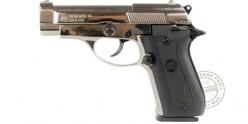 Pistolet alarme BRUNI Mod. 85 nickelé Cal. 9mm