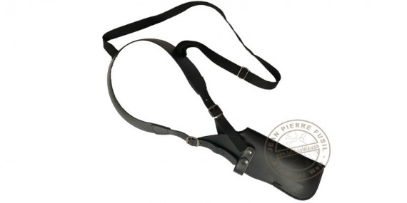 Shoulder holster for pistol - leather