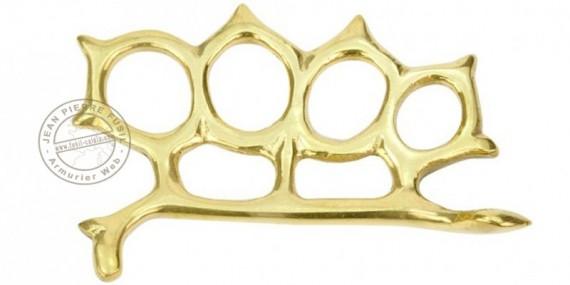 Rattlesnake Knuckle-duster - Golden