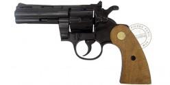"Revolver alarme KIMAR PYTHON 4"" - Crosse Bois - Cal. 9mm"