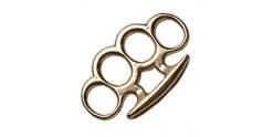 Standard Knuckle-duster - Golden bronze