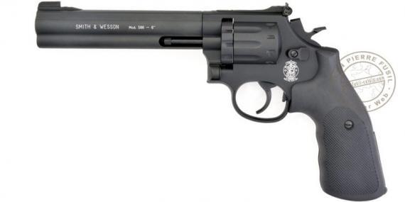 "UMAREX - SMITH & WESSON Mod.586 barrel 6"" CO2 revolver - .177 bore (3,6 joules)"