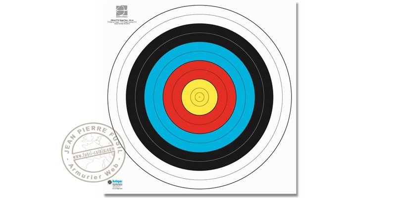 Reinforced paper targets x10