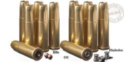 CROSMAN - 6 cartridges set for REMINGTON 1875 CO2 revolver