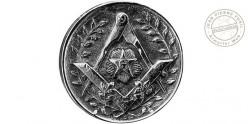 FAYET Milord Swordstick - Masonic badge