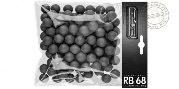 UMAREX T4E - Bag of 100 rubber balls - Cali .68