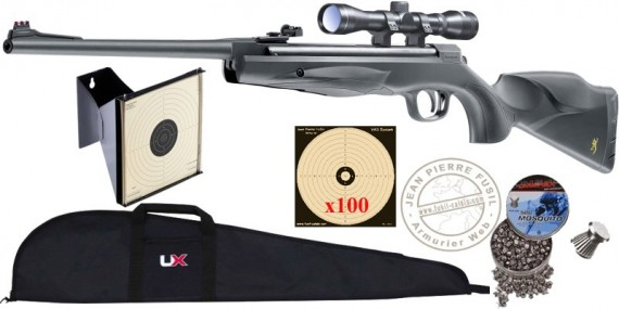 BROWNING X-Blade II air rifle pack - .177 rifle bore (19.9 joules) - SPECIAL FFER