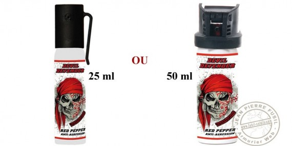 Bombe de défense Devil Defender - Red Pepper