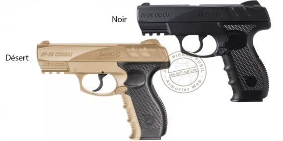 Pistolet à plomb CO2 4.5 mm GAMO GP-20 Combat (2,6 joules)